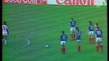 Link öffnet eine Lightbox. Video Frankreichs Führungstor gegen Portugal abspielen