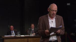 Video «Plädoyer der Anklage: Marc Spescha und Robert Misik» abspielen