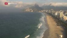 Link öffnet eine Lightbox. Video Probleme in Rio: Sicherheit, Gesundheit, Transport abspielen
