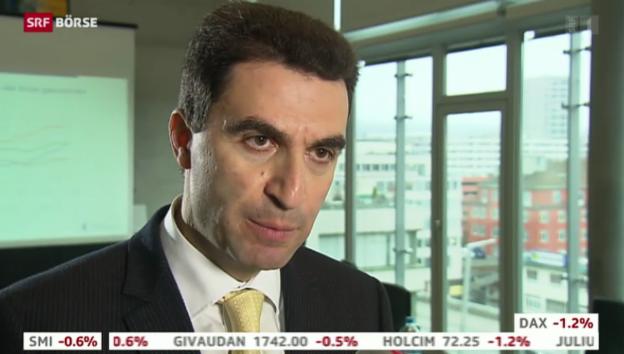 Das Jahr 2015 werde an den Finanzmärkten zu einem Übergangsjahr, sagt Anastassios Frangulidis, Chefökonom der ZKB. Wahrscheinlich würden die Aktien kaum ... - 624