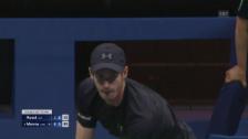 Link öffnet eine Lightbox. Video Satz- und Matchball von Andy Murray abspielen
