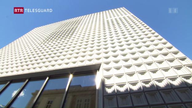 Laschar ir video «Avertura Museum d'art dal Grischun»