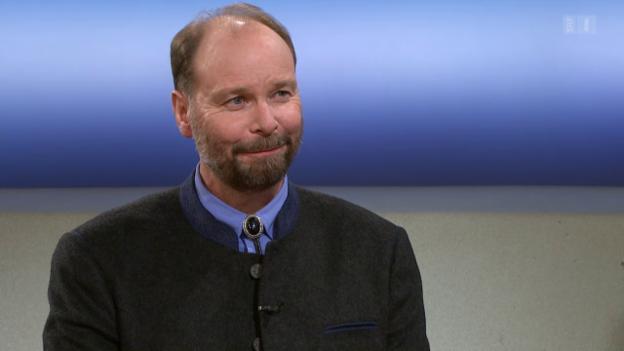Video «Theke: Reinhard Schnidrig» abspielen