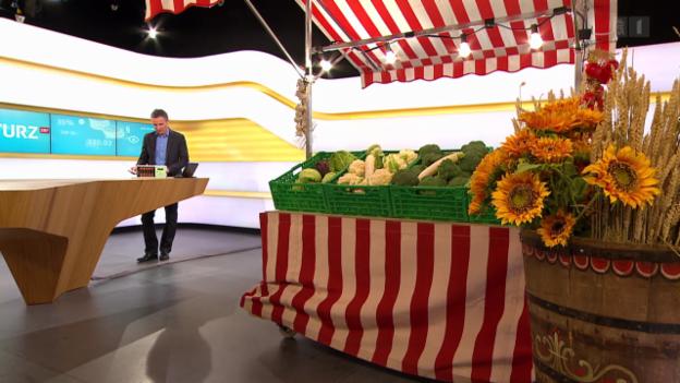 Video «Gemüse aus Gen-Labor: Konsument hat keine Wahl» abspielen