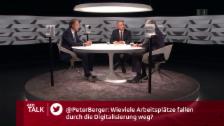 Video «Zuschauerfrage: Wie viele Jobs fallen durch Digitalisierung weg?» abspielen