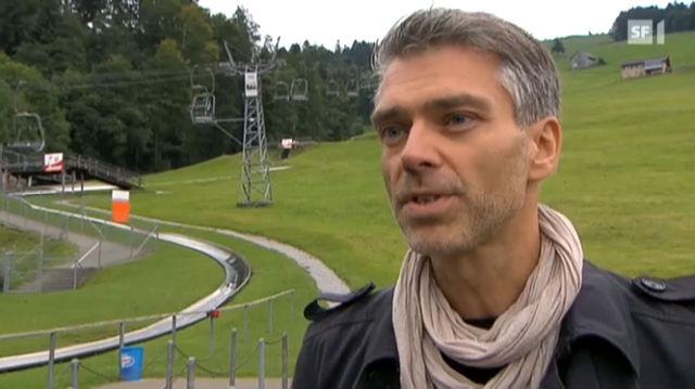Sandro Brotz führt seinen Sohn aus - Glanz & Gloria - TV - Play SRF - Schweizer Radio und Fernsehen - 640