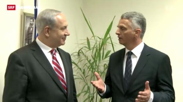 Video «Burkkhalter bei Netanyahu» abspielen