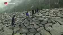Link öffnet eine Lightbox. Video Sicherheit Gotthard: Fast jeder Stein wird umgedreht abspielen