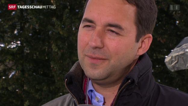 Video «Der neue Swiss Re-Chef» abspielen