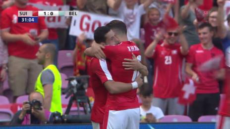 Link öffnet eine Lightbox. Video Live-Highlights Schweiz-Belgien abspielen