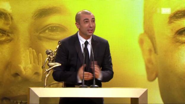Video ««Sports Awards»: Auszeichnung Roberto Di Matteo» abspielen