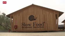 Laschar ir video «Expo Milano – predicar slow food mangiar fast food»