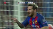 Link öffnet eine Lightbox. Video Messi schiesst Manchester City ab abspielen