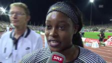 Link öffnet eine Lightbox. Video Doppel-Olympiasiegerin Elaine Thompson über ihre Lausanne-Premiere abspielen