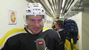 Video «Roman & Mark: Zwei Eishockey-Cracks und ein Promi-Plauschturnier» abspielen