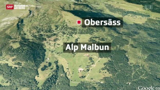 Video «Hier befindet sich die Alp Malbun» abspielen