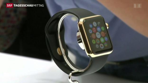 Video «Mehr Smartwatches als Schweizer Uhren» abspielen