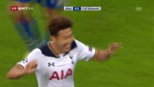 Link öffnet eine Lightbox. Video Tottenham beim ZSKA dank einem Südkoreaner im Glück abspielen