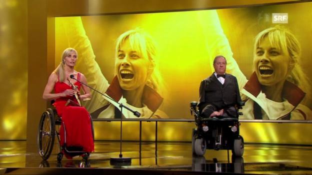 Video ««Sports Awards»: Auszeichnung Edith Wolf-Hunkeler» abspielen
