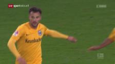 Link öffnet eine Lightbox. Video Tarashaj und Seferovic schiessen Frankfurt zum Sieg abspielen