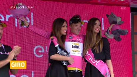 Link öffnet eine Lightbox. Video Spanischer Tagessieger und niederländischer Leader am Giro abspielen