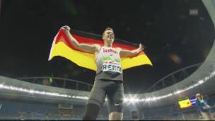Video «Markus Rehms Sprung zum Olympiasieg» abspielen