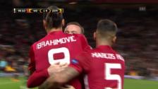 Link öffnet eine Lightbox. Video Ibrahimovic rettet ManUnited vor Blamage abspielen