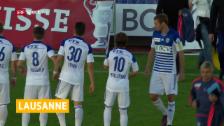 Link öffnet eine Lightbox. Video Lausanne steigt in die Super League auf abspielen