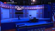 Link öffnet eine Lightbox. Video Clinton vs. Trump: das erste TV-Duell abspielen