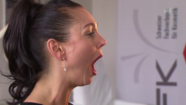 Video «Gesichtsgymnastik: Übung 2» abspielen