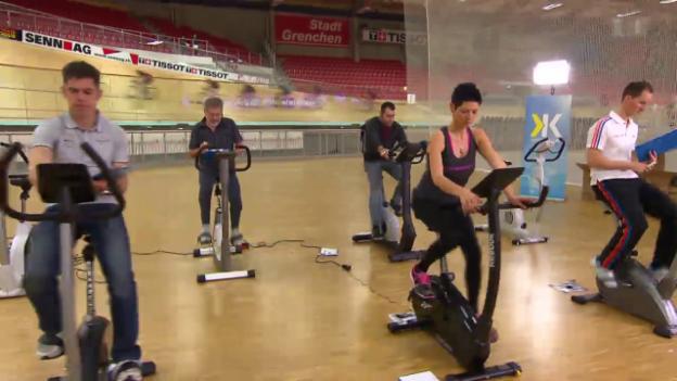 Video «Hometrainer-Test: Mit diesen macht das Training Spass» abspielen