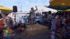 Video «Dodo und sein «Hippie-Bus» Live an der Raststätte Würenlos» abspielen