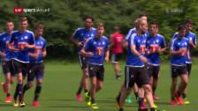 Link öffnet eine Lightbox. Video Luzern vor dem Spiel gegen Sassuolo abspielen