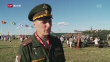 Link öffnet eine Lightbox. Video «10vor10»-Serie: Untergang der UdSSR - Armee abspielen