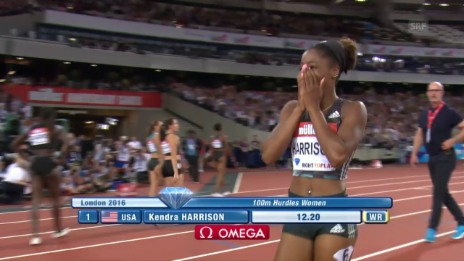 Link öffnet eine Lightbox. Video Der 100-m-Hürden-Weltrekord von Kendra Harrison (engl. Kommentar) abspielen