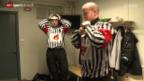 Video «Eishockey: Schweizer Schiedsrichter leitete den ChL-Final» abspielen