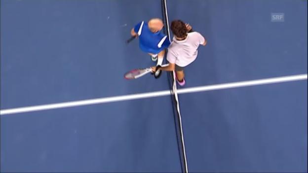 Video «Australian Open: Federer - Dawidenko («sportaktuell»)» abspielen