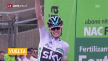 Link öffnet eine Lightbox. Video Froome gewinnt 11. Vuelta-Etappe abspielen