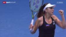 Link öffnet eine Lightbox. Video Tennis: WTA St. Petersburg, Bencic - Beck abspielen