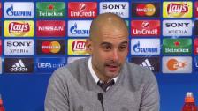 Link öffnet eine Lightbox. Video Guardiola über seine Zeit in München abspielen