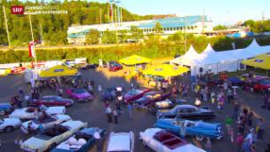 Video «Abschied vom «Fressbalken» & Herstellung von Verkehrssignalen» abspielen