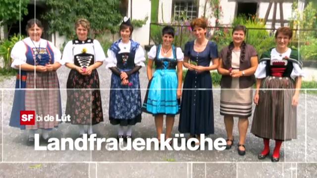 das grosse finale 2012 - srf bi de lüt ? landfrauenküche - srf - Landfrauen Küche