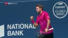 Link öffnet eine Lightbox. Video Tennis: Masters Toronto, Wawrinka - Anderson abspielen