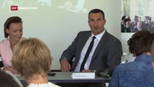 Video «Nachdiplom-Studiengang mit Wladimir Klitschko» abspielen