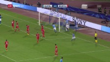 Link öffnet eine Lightbox. Video Napoli bekundet mit Benfica keine Mühe abspielen