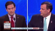 Link öffnet eine Lightbox. Video Rubio vs. Christie abspielen