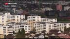Video «Mietzinsen in der Schweiz sinken erstmals seit Jahren» abspielen