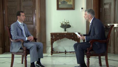 Link öffnet eine Lightbox. Video Syriens Machthaber Assad im Interview (Ausschnitt) abspielen