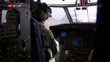 Link öffnet eine Lightbox. Video F/A-18-Pilot beim Absturz getötet abspielen