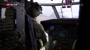 Video «F/A-18-Pilot beim Absturz getötet» abspielen